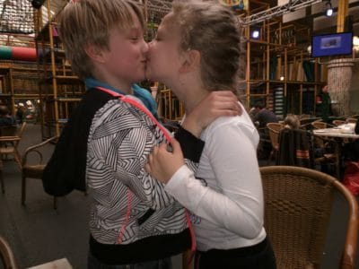 My eight years old son is dating 😘!