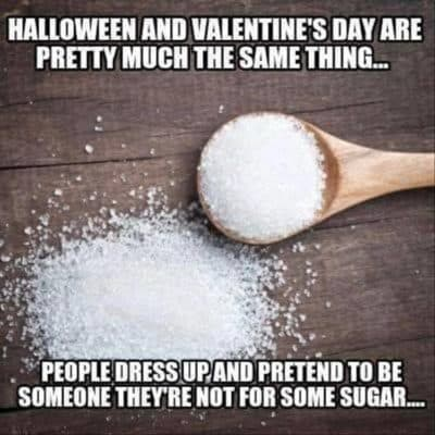 Halloween vs Valentine's day
