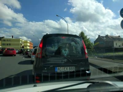 OMFG look at the window sticker.